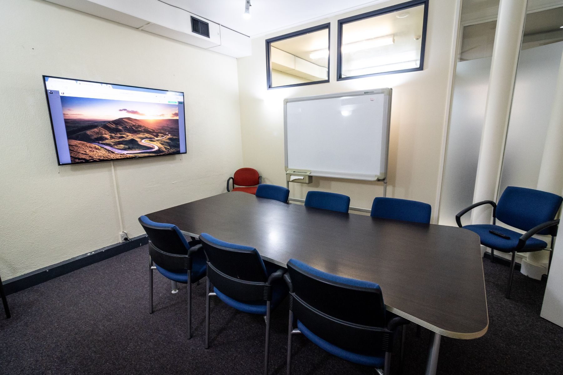 video conferencing meeting room, Wellington