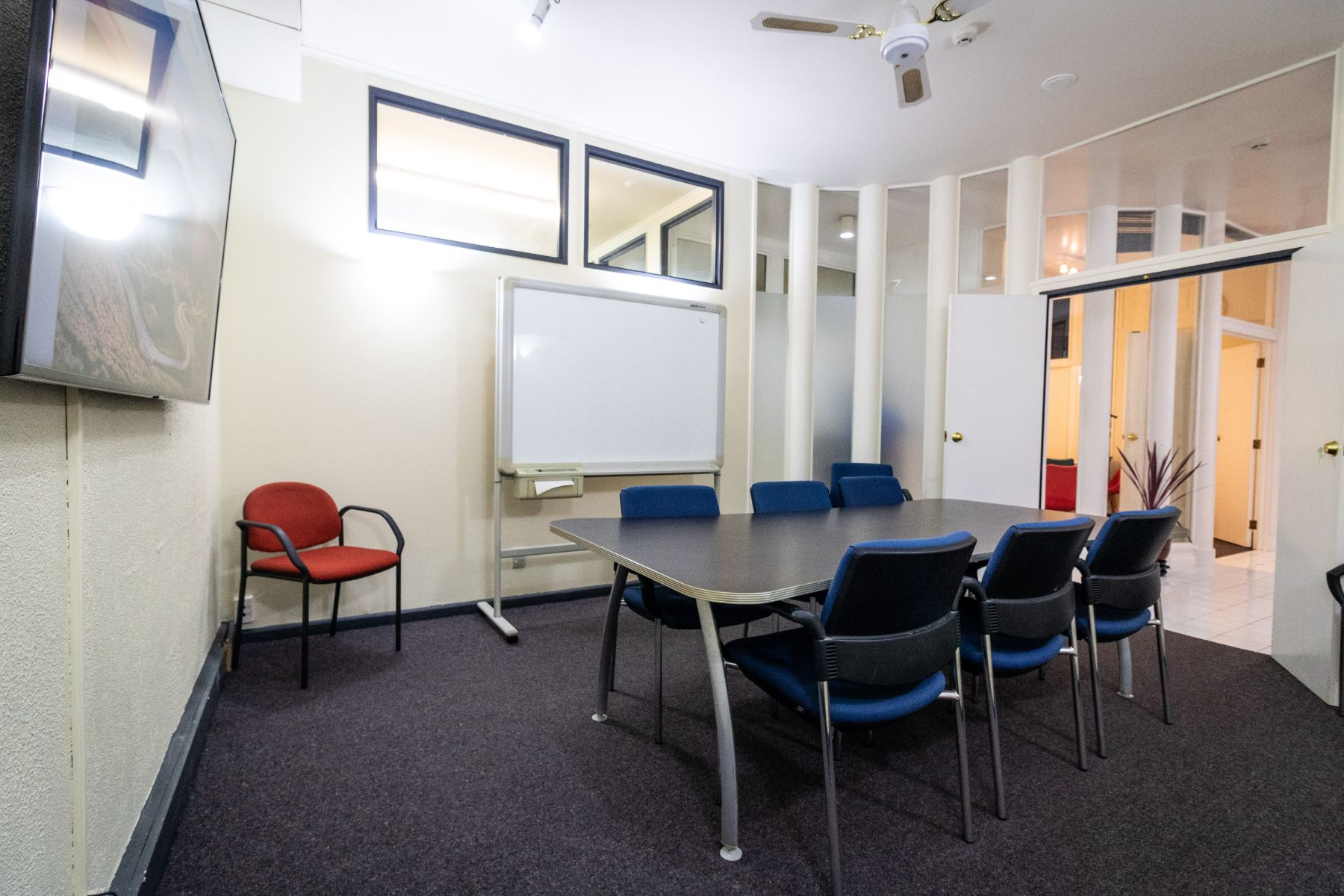 board meeting room, Wellington CBD