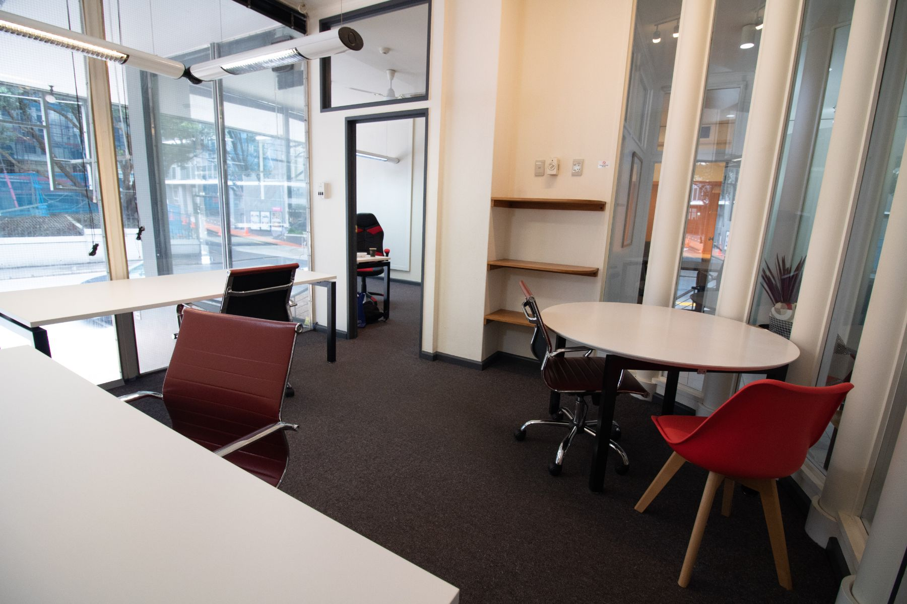 private lockable office option for 3 people, Wellington