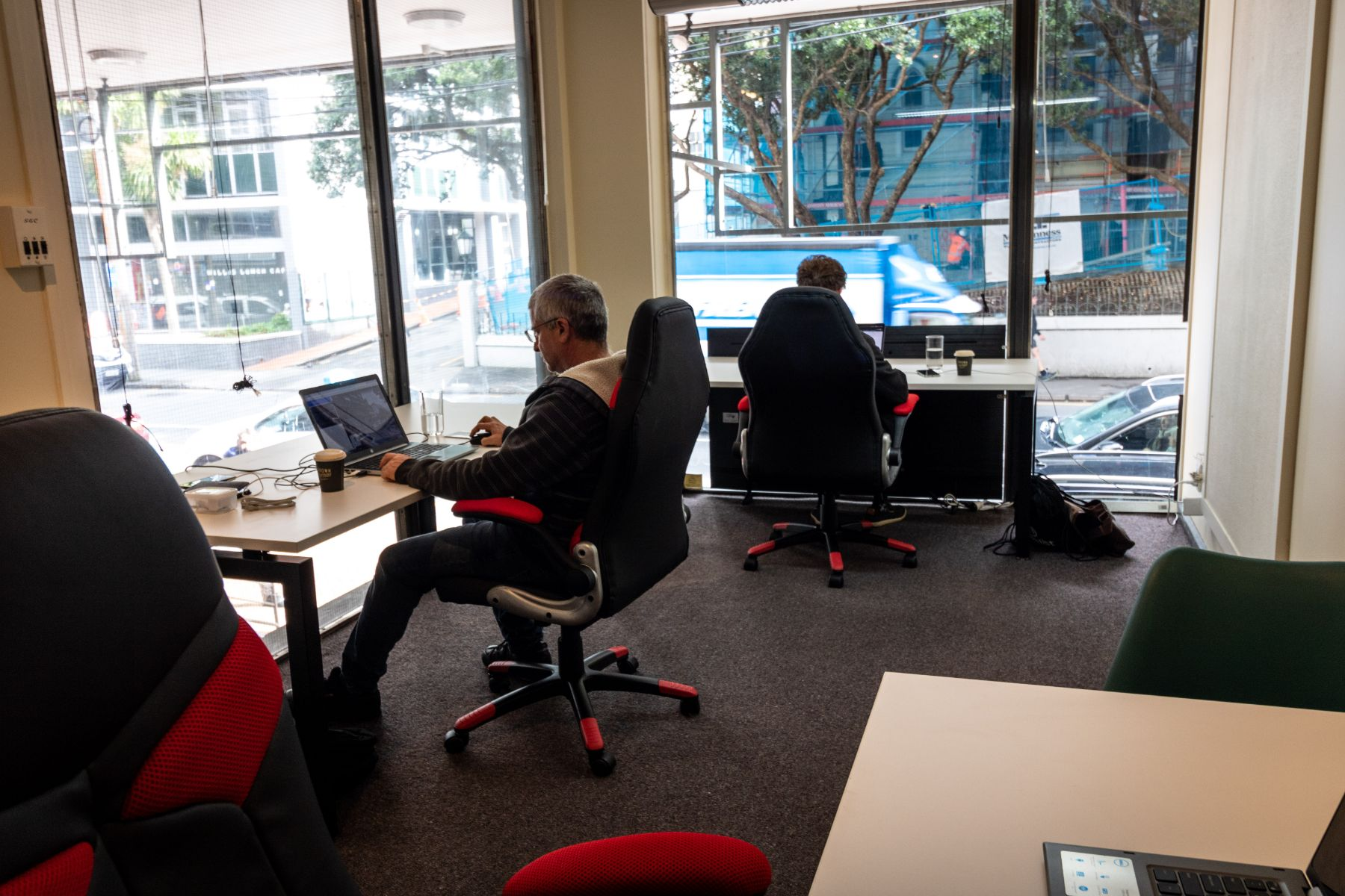 Natural light office for 3 people, Wellington