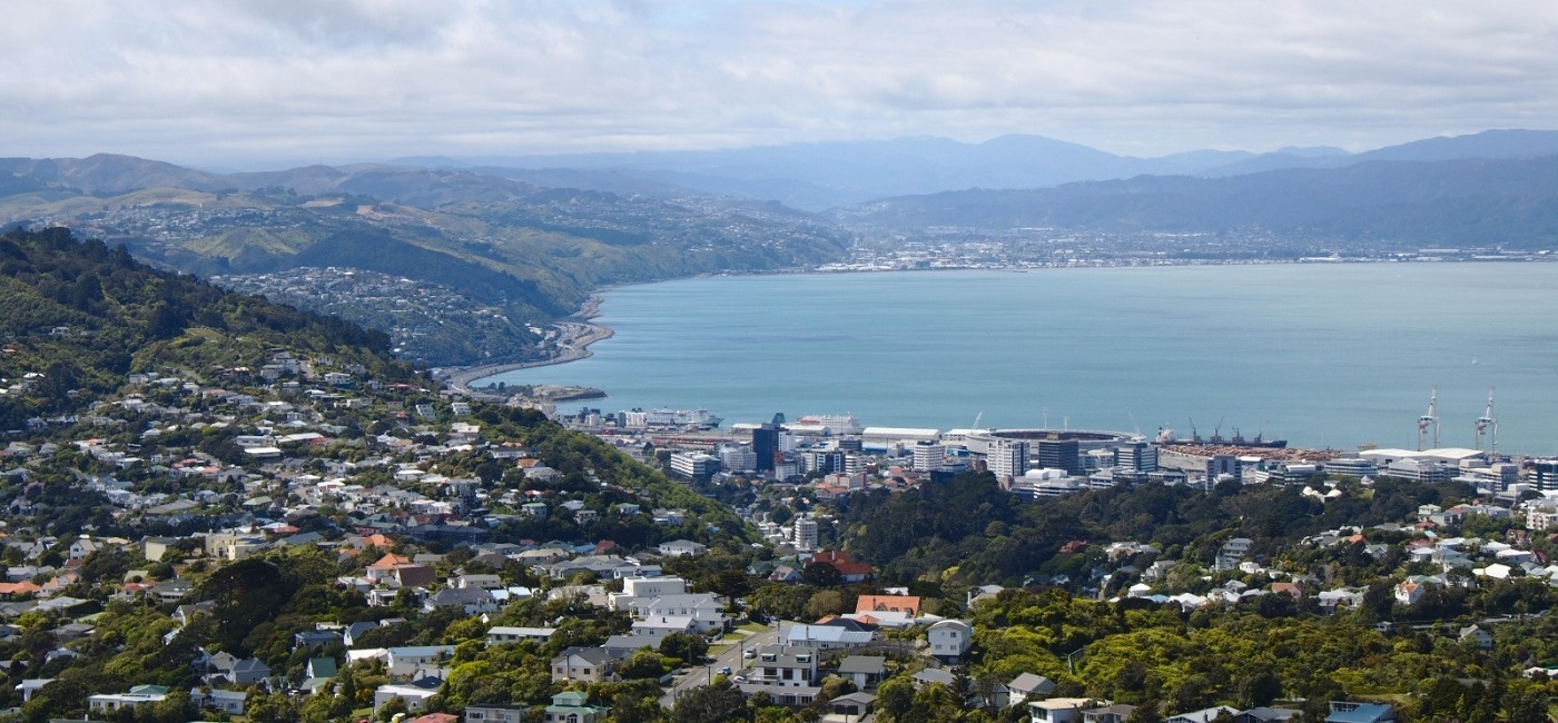 Wellington Commercial Buildings, New Zealand